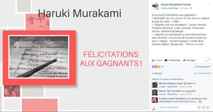 Concours Murakami