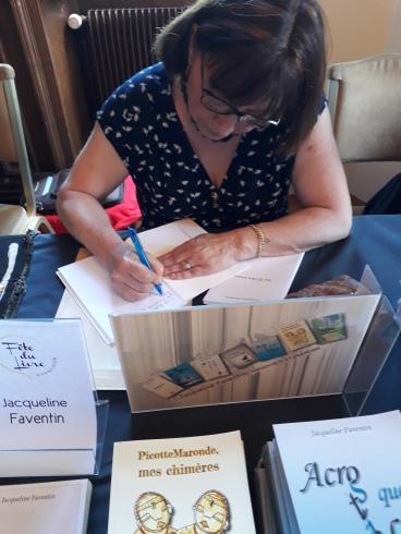 Jacqueline Faventin - juin 2018