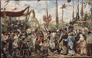 Le_Petit_Palais_-_Alfred_Roll_-_Esquisse_-_Le_14_juillet_1880,_inauguration_du_monument_à_la_république_-_vers_1881_-_001