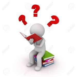 60596982-3d-homme-assis-sur-une-pile-de-livres-et-la-lecture-avec-des-points-d-interrogation-rouge-isolé-sur